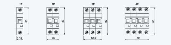 1p 250v 20 Amp 40 Amp Dc Mcb