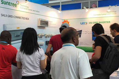 Dubai Exhibition ------solar Inverter,dc Mcb